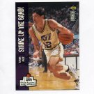 1995-96 Collector's Choice Basketball #392 John Stockton LOVE - Utah Jazz