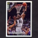 1995-96 Collector's Choice Basketball #050 David Robinson - San Antonio Spurs