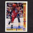 1991-92 Upper Deck Basketball #050 Tim Hardaway AS - Golden State Warriors