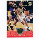 1995-96 Upper Deck Basketball Electric Court #174 Gary Payton - Seattle Supersonics