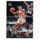 1995-96 Upper Deck Basketball Electric Court #010 Ken Norman - Atlanta Hawks