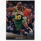 1995-96 Upper Deck Basketball #017 Gary Payton - Seattle Supersonics