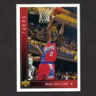 1993-94 Upper Deck Basketball #372 Moses Malone - Philadelphia 76ers