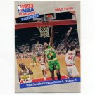 1993-94 Upper Deck Basketball #189 The West Semis - Seattle Supersonics