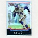 2004 Bowman Chrome Refractors #008 Randy Moss - Minnesota Vikings 018/500