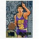 1995-96 Metal Basketball Silver Spotlight #111 John Stockton - Utah Jazz