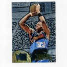 1995-96 Metal Basketball Silver Spotlight #017 Tyrone Hill - Cleveland Cavaliers