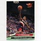 1992-93 Ultra Basketball #346 Rod Strickland - Portland Trail Blazers