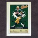 2002 Fleer Authentix Football #090 Brett Favre - Green Bay Packers