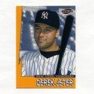 1999 Pacific Invincible Seismic Force Baseball #12 Derek Jeter - New York Yankees.