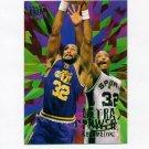 1995-96 Ultra Power Basketball #05 Karl Malone - Utah Jazz