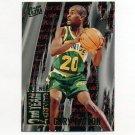 1995-96 Ultra All-NBA Basketball #09 Gary Payton - Seattle Supersonics