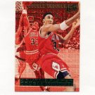 1995-96 Ultra Double Trouble Basketball #08 Scottie Pippen - Chicago Bulls