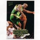 1995-96 Ultra Basketball #174 Gary Payton - Seattle Supersonics