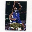 1995-96 Ultra Basketball #021 Larry Johnson - Charlotte Hornets