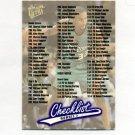 1996-97 Ultra Basketball #300 Checklist 264-300 / Inserts