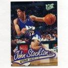 1996-97 Ultra Basketball #256 John Stockton - Utah Jazz