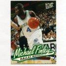 1996-97 Ultra Basketball #168 Michael Finley - Dallas Mavericks