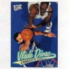 1996-97 Ultra Basketball #158 Vlade Divac - Charlotte Hornets
