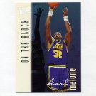 1996-97 Ultra Basketball #130 Karl Malone OTB - Utah Jazz