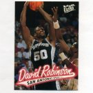 1996-97 Ultra Basketball #101 David Robinson - San Antonio Spurs