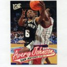 1996-97 Ultra Basketball #100 Avery Johnson - San Antonio Spurs