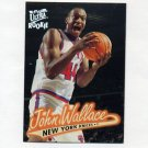 1996-97 Ultra Basketball #076 John Wallace RC - New York Knicks