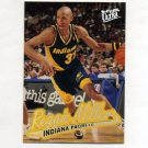 1996-97 Ultra Basketball #046 Reggie Miller - Indiana Pacers