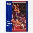 1991-92 Fleer Basketball #203 John Stockton - Utah Jazz