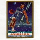 1992-93 Fleer Basketball #253 Larry Johnson PV - Charlotte Hornets
