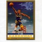 1992-93 Fleer Basketball #251 Tim Hardaway PV - Golden State Warriors