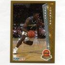 1992-93 Fleer Basketball #247 Larry Johnson ROY - Charlotte Hornets