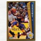 1992-93 Fleer Basketball #074 Tim Hardaway - Golden State Warriors