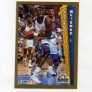 1992-93 Fleer Basketball #060 Dikembe Mutombo - Denver Nuggets