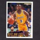 1994-95 Fleer Basketball #113 Nick Van Exel - Los Angeles Lakers