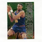 1995-96 Fleer Franchise Futures Basketball #6 Dikembe Mutombo - Denver Nuggets