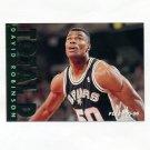 1995-96 Fleer Total D Basketball #10 David Robinson - San Antonio Spurs