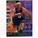 1995-96 Fleer Basketball #340 Charles Barkley FF - Phoenix Suns