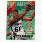 1995-96 Fleer Basketball #173 David Robinson - San Antonio Spurs