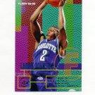 1995-96 Fleer Basketball #018 Larry Johnson - Charlotte Hornets
