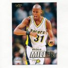 1997-98 Fleer Basketball #031 Reggie Miller - Indiana Pacers