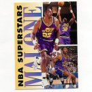 1993-94 Fleer NBA Superstars Basketball #10 Karl Malone - Utah Jazz