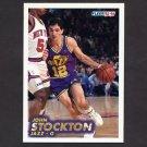 1993-94 Fleer Basketball #212 John Stockton - Utah Jazz