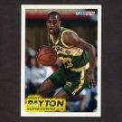 1993-94 Fleer Basketball #202 Gary Payton - Seattle Supersonics