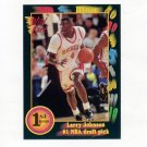 1991-92 Wild Card Basketball #001 Larry Johnson No. 1 Pick