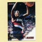 1996-97 Hoops Basketball #236 Rasheed Wallace - Portland Trail Blazers