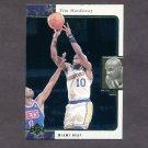 1995-96 SP Basketball #045 Tim Hardaway - Golden State Warriors