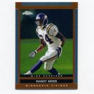 2003 Topps Draft Picks And Prospects Chrome Football #035 Randy Moss - Minnesota Vikings