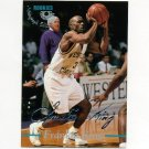 1995 Classic Basketball Silver Signatures #035 Frankie King - Western Carolina / LA Lakers