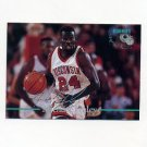 1995 Classic Basketball Silver Signatures #019 Michael Finley - Wisconsin / Phoenix Suns